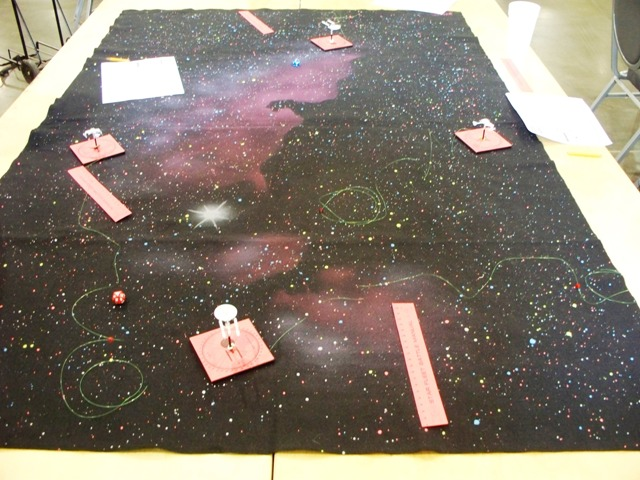 A game of the original Star Fleet Battle Manual with some amazing work on the ship records.